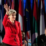 General Conference elects Irina Bokova for second term as Director-General