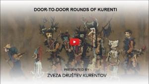 Door-to-door rounds of Kurenti