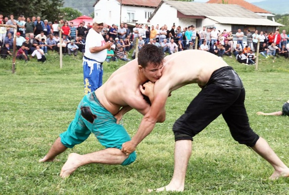 Pelivan wrestling on Hidrellez Day